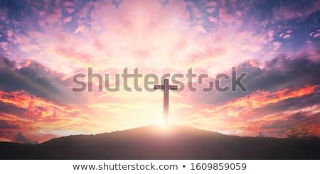 good friday concept background with cross symbol Stock photo © SArts