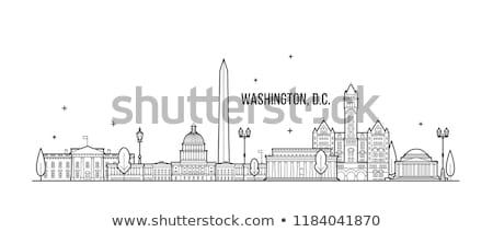 Washington DC manzara ABD Bina adam Stok fotoğraf © ShustrikS