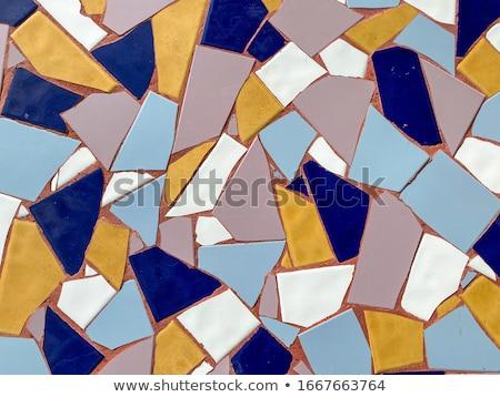 Coloré mosaïque façade tenerife Espagne construction Photo stock © lightpoet