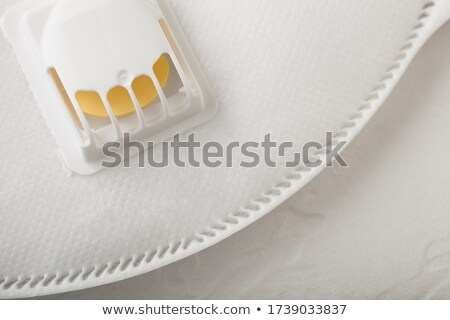 Face mask shield on white background. Best protection from coronavirus, germs,bacteria and viruses.  Stock photo © DenisMArt