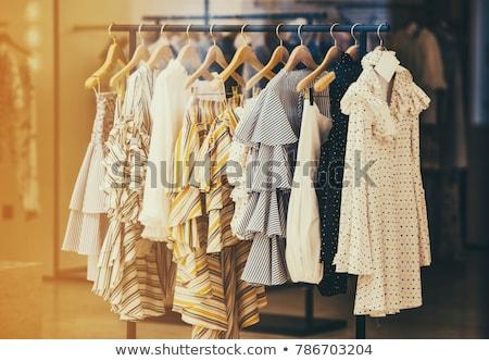 Roupa boutique mulher moda corpo compras Foto stock © Paha_L