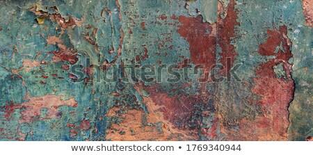 Oude pakpapier patroon vochtigheid achtergrond retro Stockfoto © Melvin07