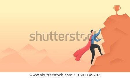 дартс · целевой · номера · красный - Сток-фото © oxygen64
