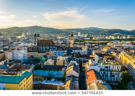 Historic church in Linz Stock photo © Spectral
