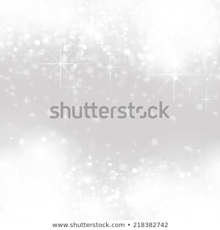 vector light silver abstract christmas background stock photo © orson