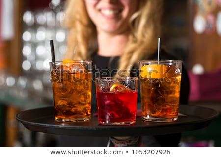 a cocktail waitress stock photo © photography33