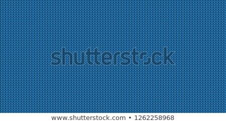 Luogo testo blu tessuto texture Foto d'archivio © Ecelop