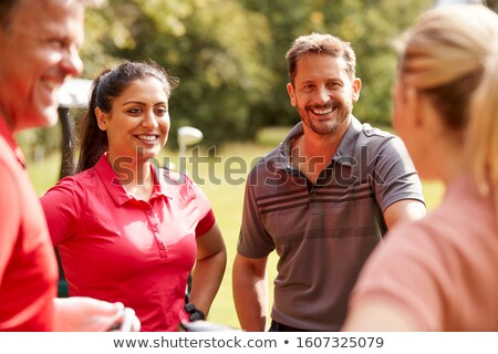 Golfer smiling Stock photo © photography33