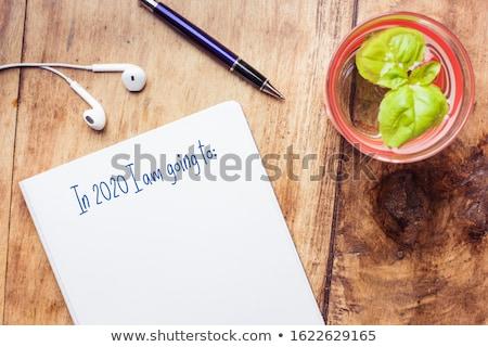 Beter baan top afgedrukt papier Stockfoto © stevanovicigor