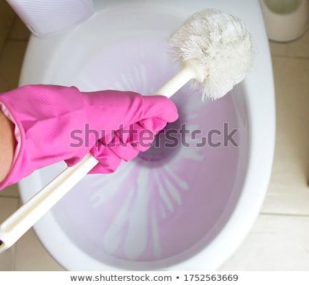 gyönyörű · karcsú · nő · kozmetika · izolált · fehér - stock fotó © candyboxphoto