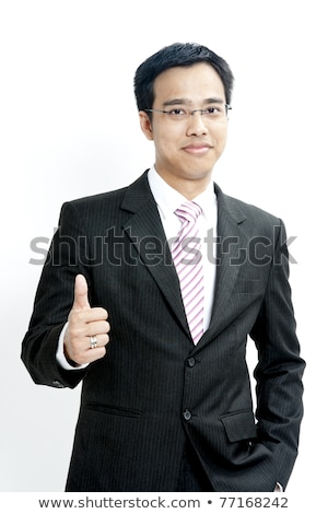 portrait of hand showing goodluck sign against white background stock photo © cozyta