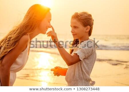 protetor · solar · senior · mulher - foto stock © photography33