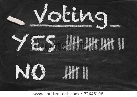 élections · texte · noir · vote · élection · papier - photo stock © bbbar