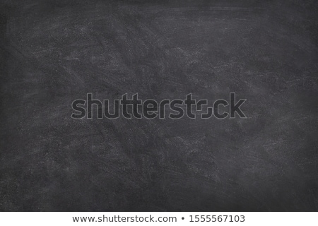 Smudged blackboard background with chalk and copy space Stock photo © bbbar