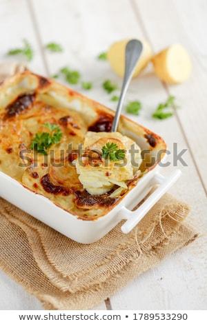 vegetariano · pasto · formaggio · bordo · vegetali · crema - foto d'archivio © m-studio