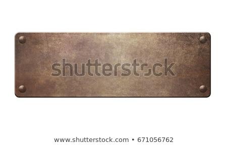 金属 プレート テクスチャ 建設 デザイン ストックフォト © jadthree