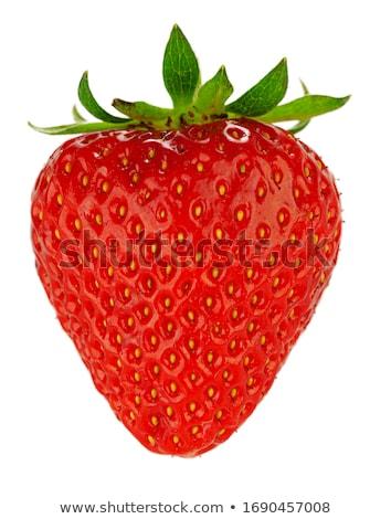 食欲をそそる イチゴ 白 フルーツ 赤 イチゴ ストックフォト © homydesign