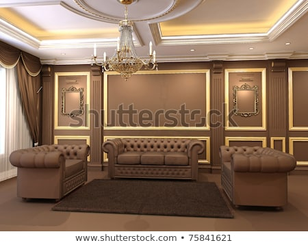interior office space royal apartment with luxury furniture stock photo © victoria_andreas