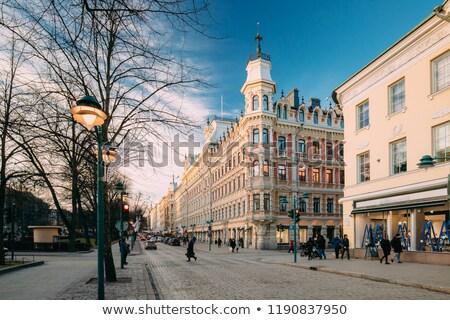 Хельсинки Солнечный зима день Nice Сток-фото © Estea