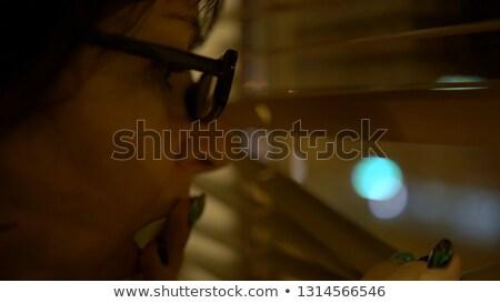 mulher · espionagem · trabalhar · pessoa · profissional · roupa - foto stock © photography33