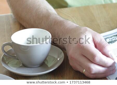 Férfi hüvelykujjak katalógus tele üzletember külső Stock fotó © Andriy-Solovyov