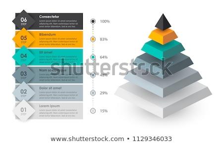 3D Pyramid Stock photo © cteconsulting