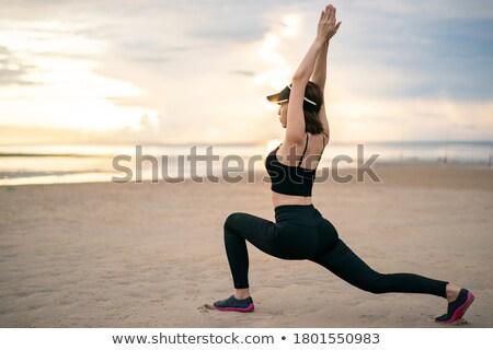 Low Lunge Position Stock photo © luminastock