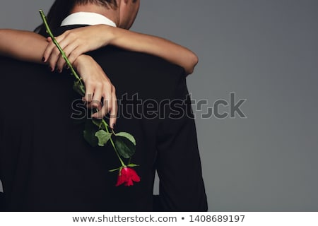 Affection. Bonding. Seductive Couple - Man and Woman Embracing Stock photo © gromovataya