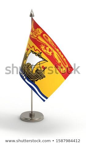 Miniature Flag of New Brunswick Stock photo © bosphorus