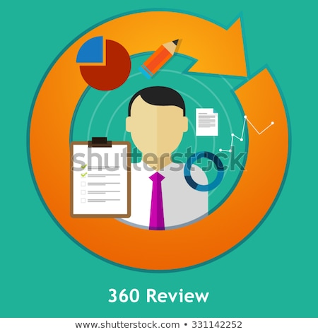 360 Degrees Survey Concept Stock photo © ivelin