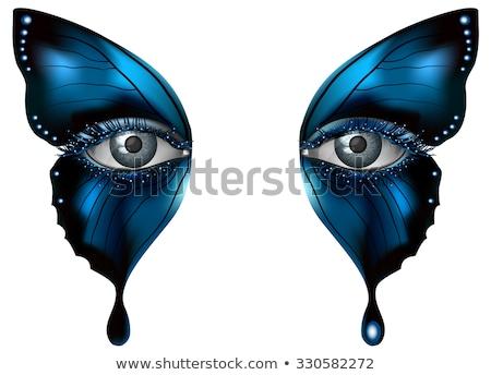 бабочка · глаза · мнение · красивой · большой · датчик - Сток-фото © thomaseder