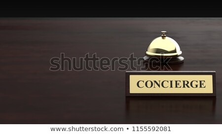 Concierge sign stock photo © dutourdumonde