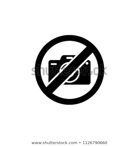 Photography banned-stamp Stock photo © carmen2011