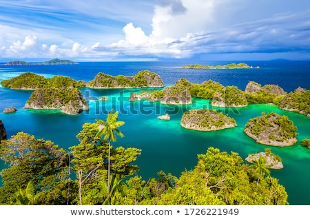 Stock photo: Tropical sea landscape