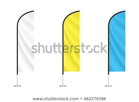 Advertising flag or beach flag Stock photo © 5xinc