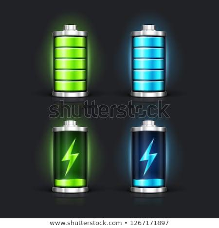 3D バッテリー 金属 エネルギー 電気 エンジン ストックフォト © designers
