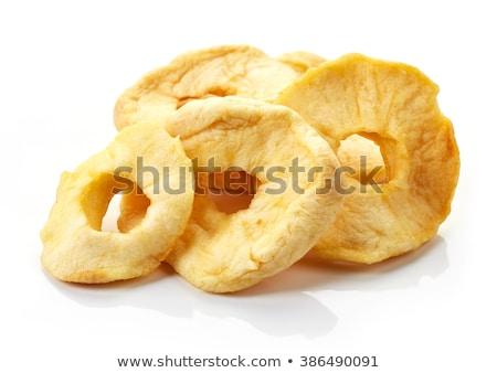 aszalt · almák · friss · gyümölcsök · fából · készült · étel - stock fotó © yelenayemchuk