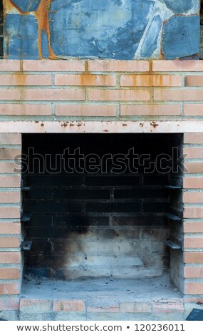 Front view of brick chimney off stock photo © alexandre_zveiger