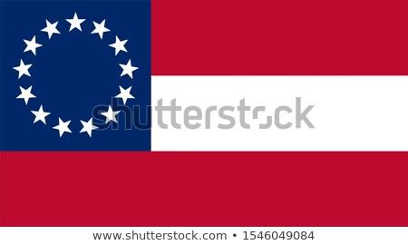 Confederate Battle Flag Stock photo © creisinger