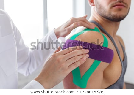 physiotherapy tapes Stock photo © Flareimage