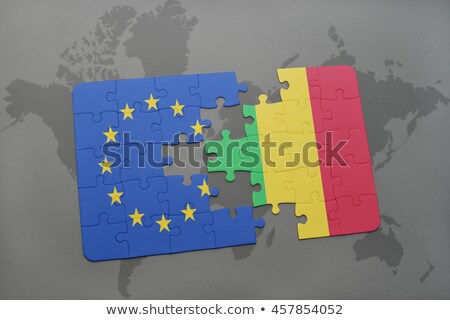 European Union and Mali Flags in puzzle  Stock photo © Istanbul2009