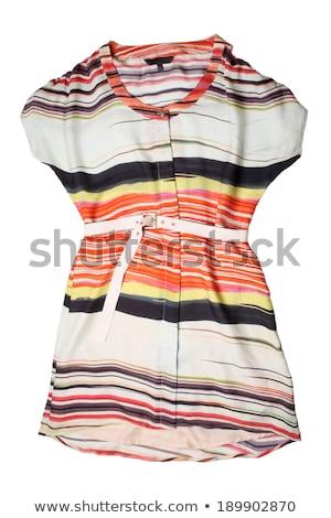 トレンディー · 女性 · カジュアル · 服 · 絹のような - ストックフォト © gsermek