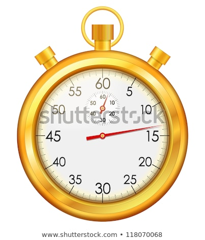 Stop Watch golden Vector Icon Design Stock photo © rizwanali3d