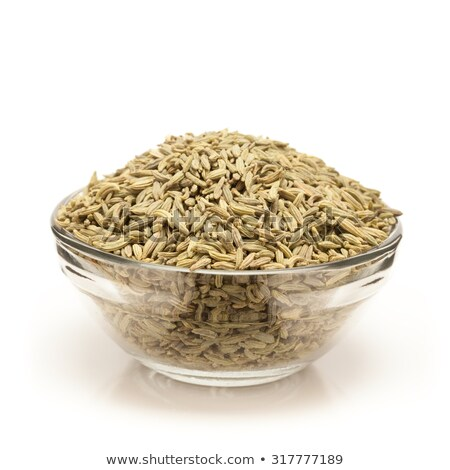 Front view of Bowl of Organic Aniseed. Stock photo © ziprashantzi