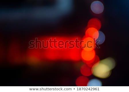 Bokeh mavi ışık noktalar bulanık ışıklar Stok fotoğraf © robinsonthomas