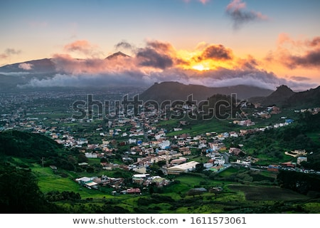 Picturesque view to the Teide volcano. Tenerife, Canary Islands. Stock photo © amok