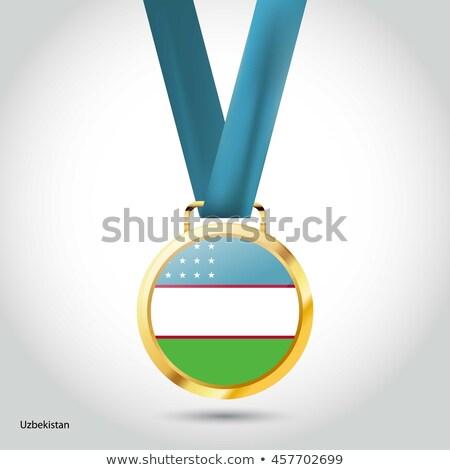 Бразилия Узбекистан флагами головоломки изолированный белый Сток-фото © Istanbul2009