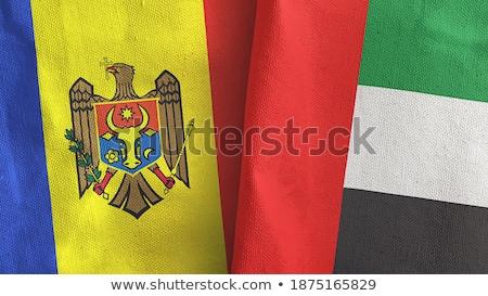 United Arab Emirates and Moldova Flags Stock photo © Istanbul2009