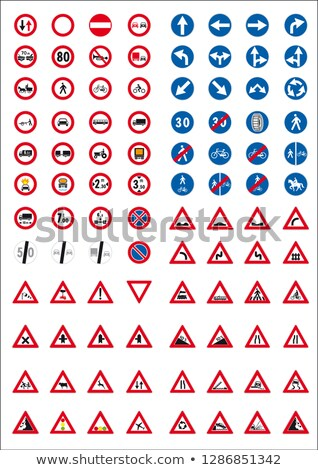 cautionary road sign Stock photo © Paha_L