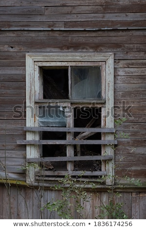 Dilapidated wooden houses Stock photo © Kotenko